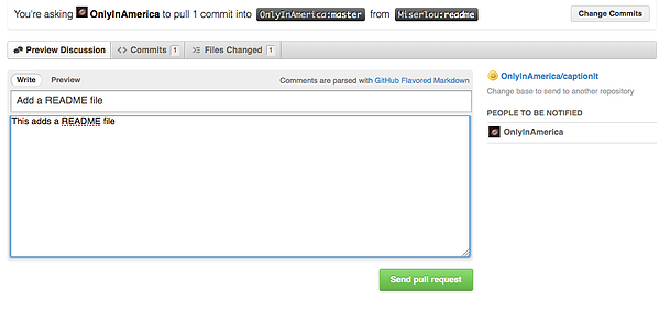 How to GitHub Guide Describing Pull Requests