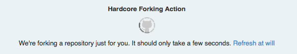 How to GitHub Guide Hardcore Forking Action